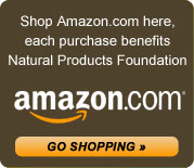 Shop Amazon.com here, each purchase benefits the Natural Products Foundation